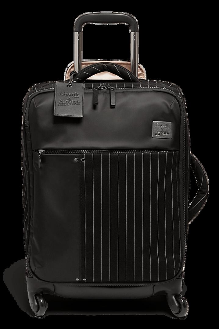 J.P. Gaultier Collab Ampli Kuffert med 4 hjul 55cm Black | 1