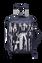 Izak Zenou Collab Kuffert med 4 hjul 55cm Pose/Night Blue