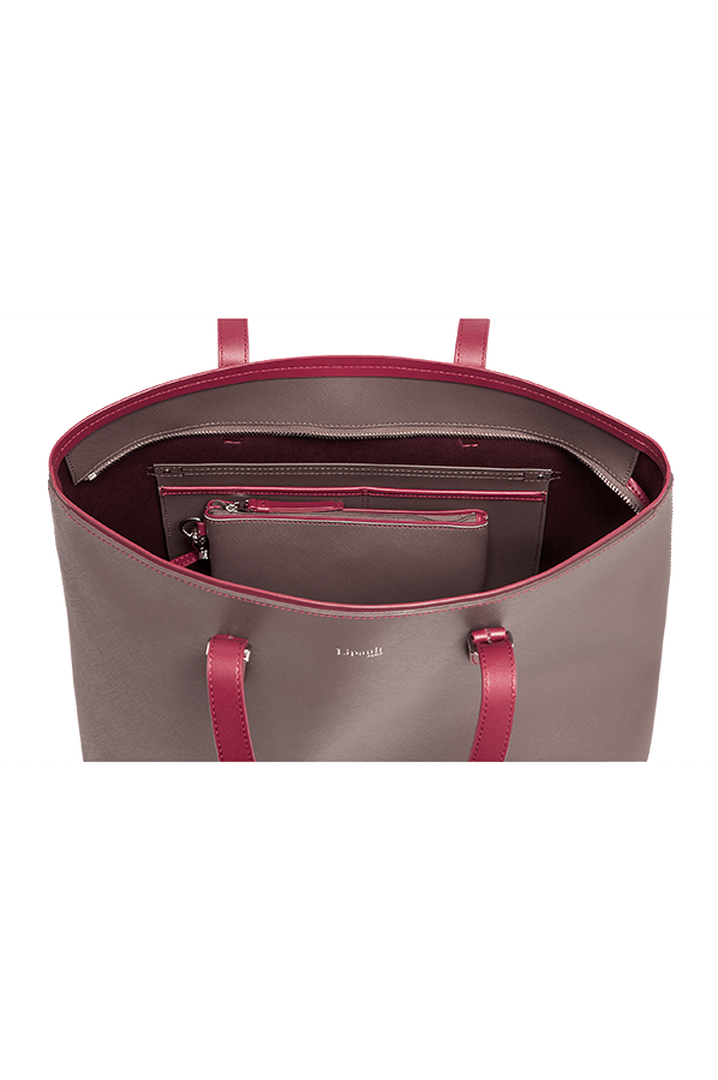 Variation Shoppingtaske Grey/Raspberry | 2