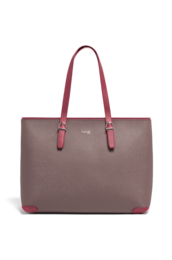 Variation Shoppingtaske Grey/Raspberry | 1