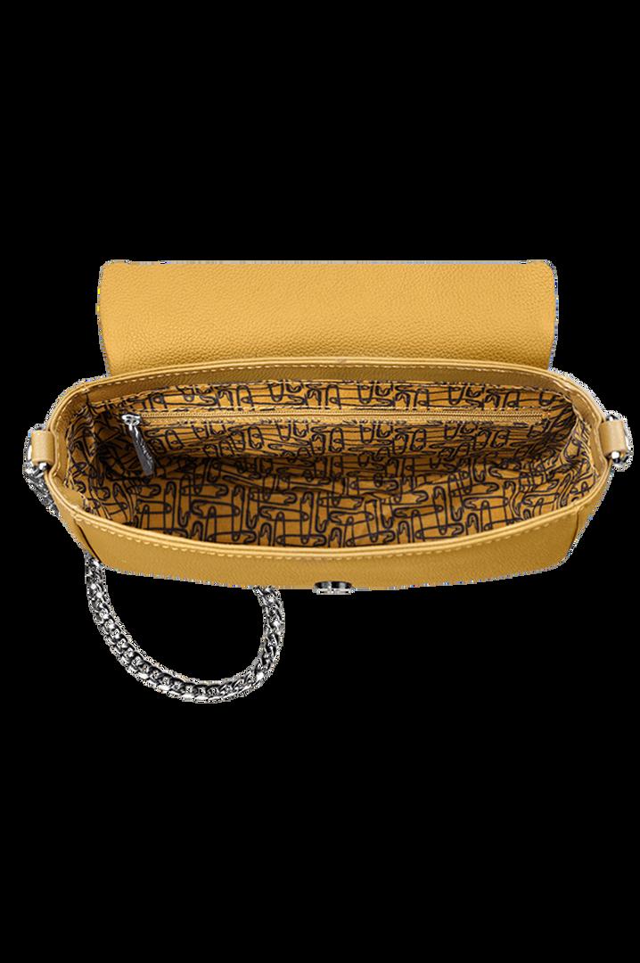 Plume Elegance Saddletaske Mustard | 2
