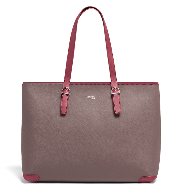Variation Shoppingtaske Grey/Raspberry